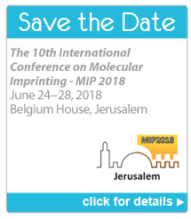 Save the Date - The 10th International Conference on Molecular Imprinting, MIP 2018 - Click for details