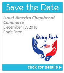 Save the Date - Israel-America Chamber of Commerce. December 17, 2018. Ronit Farm